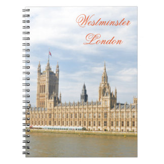 Westminster in London, UK Spiral Notebook