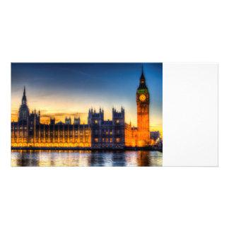 Westminster London Customised Photo Card