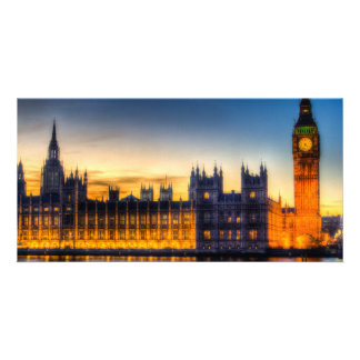 Westminster London Personalized Photo Card