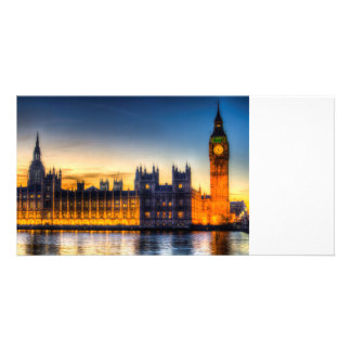 Westminster London Photo Greeting Card