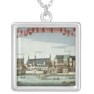 Westminster showing the Abbey Silver Plated Necklace