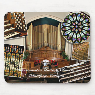 Westminster Uniting Church, Winnipeg, Canada Mouse Pad