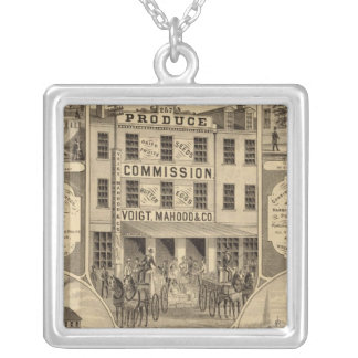 Westmoreland County, Pennsylvania Silver Plated Necklace