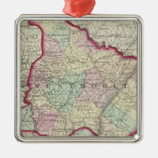 Westmoreland, Fayette counties Christmas Ornament