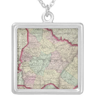 Westmoreland, Fayette counties Silver Plated Necklace