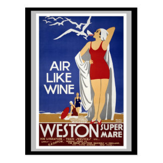 Weston Super Mare Postcard