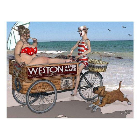 Weston Super Mare Postcard