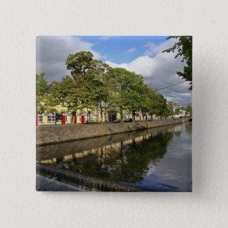 Westport, Ireland. The Atlantic town of 15 Cm Square Badge