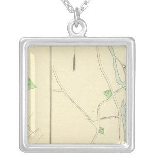 Westport, Sandy Hook, Rocky Glen Silver Plated Necklace