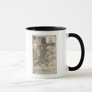 West's New Sectional and Topographical Map Of Utah Mug