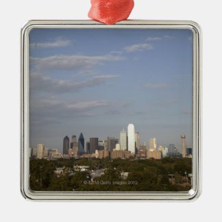 Westside view of the Dallas skyline Christmas Ornament