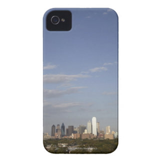 Westside view of the Dallas skyline iPhone 4 Case-Mate Cases