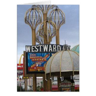 westward ho - mega dog - las vegas card