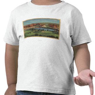 Westwood Hills, CA - View of U.C.L.A. Campus Tee Shirts