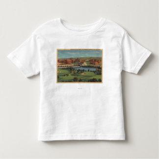 Westwood Hills, CA - View of U.C.L.A. Campus Tee Shirt