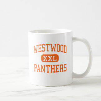 Westwood - Panthers - Junior - Palestine Texas Basic White Mug