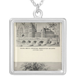 Westwood, YMCA, Hartford Silver Plated Necklace