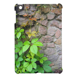 Wet and green shoots of wild grapes iPad mini covers