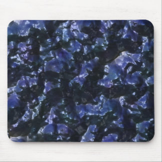 wet blue paint mouse pad