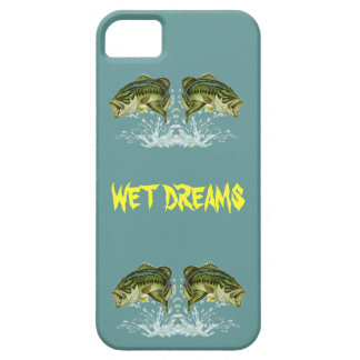 Wet Dreams - Largemouth Bass iPhone 5 Cases