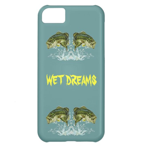 Wet Dreams - Largemouth Bass iPhone 5C Case
