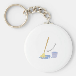 Wet Floor Key Ring