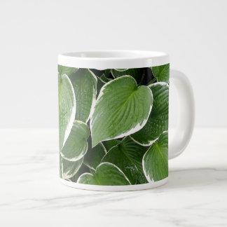 'Wet Hostas' Large Coffee Mug