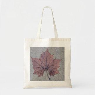 Wet Leaf Canvas Bags