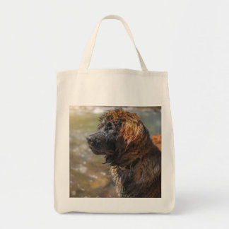 Wet Leonberger Tote Bag