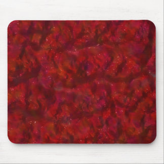 wet red paint1 mouse pad
