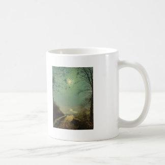 Wet Road By Moonlight, Wharfedale by John Grimshaw Coffee Mugs