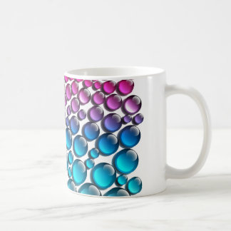 wet surface drops by changing coffee mug