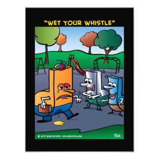 Wet Your Whistle Photographic Print