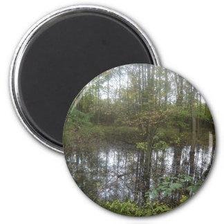 Wetland Beauty 6 Cm Round Magnet