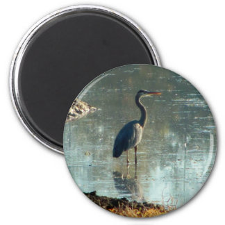 Wetland Crane Magnet