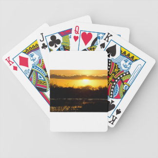 Wetland Gold Playing Cards