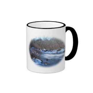 Wetland Ponds in Winter Coffee Mug