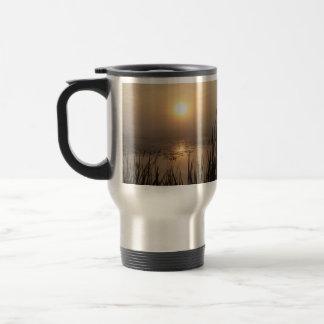 Wetland Sunrise Stainless Steel Travel Mug