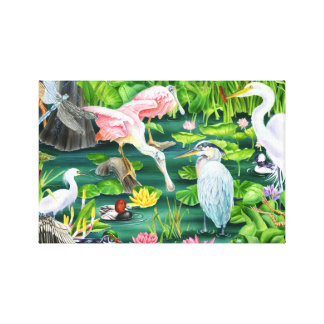 Wetland Wonders Canvas Print