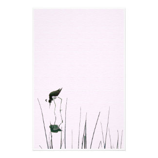 Wetlands Bird Art Stationery