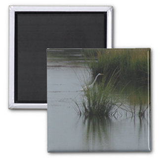 Wetlands Egret Magnet