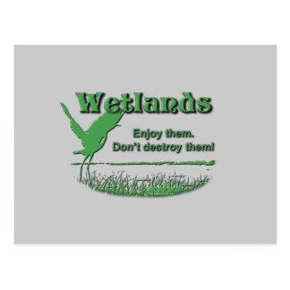 Wetlands Enjoy Them Don t Destroy Them Post Cards
