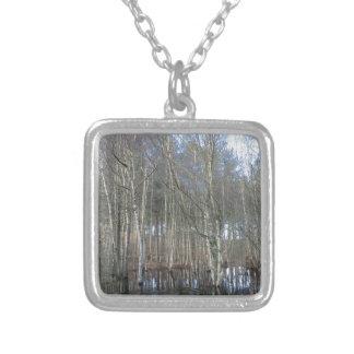 Wetlands in Delamere Forest Custom Necklace