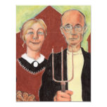We've Moved Announcement American Gothic Ranch 11 Cm X 14 Cm Invitation Card