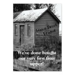 We've Moved Country Shack Housewarming 13 Cm X 18 Cm Invitation Card