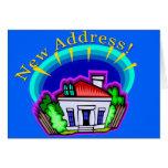 We've Moved New Address Cards