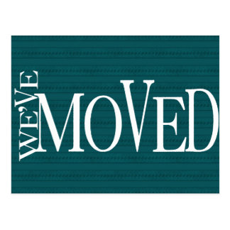 We've Moved! New home announcement Postcard