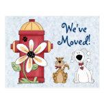 """""""We've Moved"""" Postcard"""