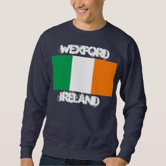 Wexford, Ireland with Irish flag Sweatshirt