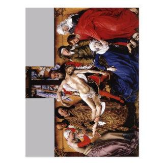 Weyden, Rogier van der Deposition Italiano: Deposi Postcard